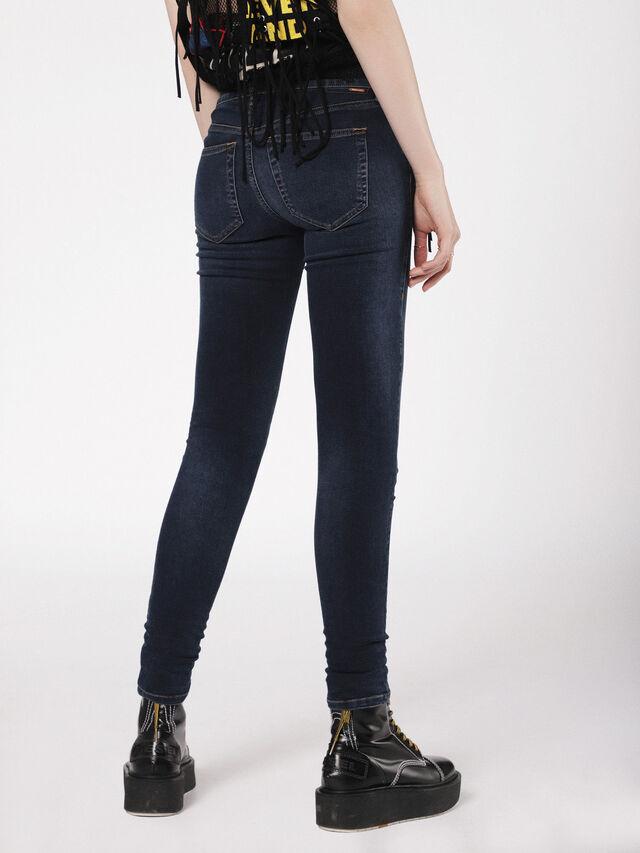 Diesel - Slandy Low 084UT, Blu Scuro - Jeans - Image 2