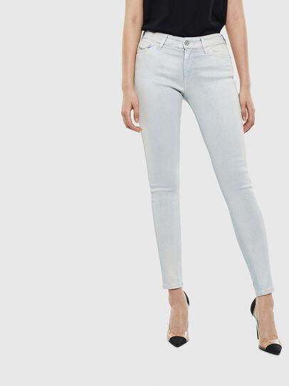 Diesel - Slandy 0099W, Blu Chiaro - Jeans - Image 1