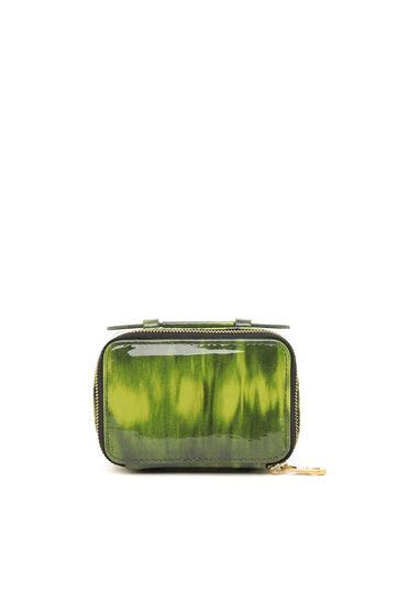 Portafoglio/mini borsa in vernice