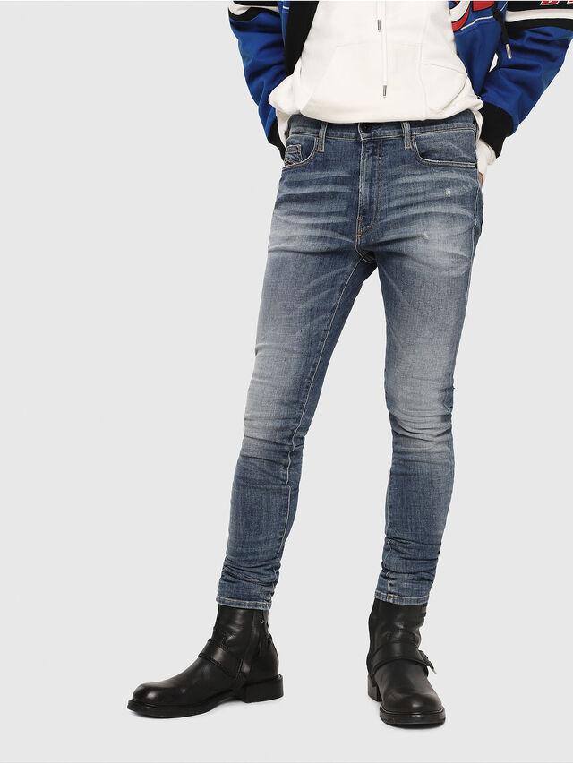 Diesel - D-Amny 086AN, Blu medio - Jeans - Image 1