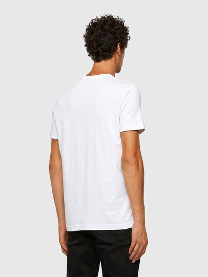 Diesel - T-DIEGOS-X47, Bianco - T-Shirts - Image 6