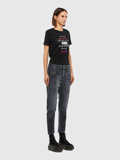 Diesel - FAYZA JoggJeans® 069QA, Nero/Grigio scuro - Jeans - Image 7