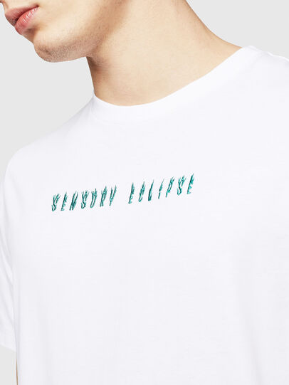 Diesel - T-JUST-A4, Bianco - T-Shirts - Image 3