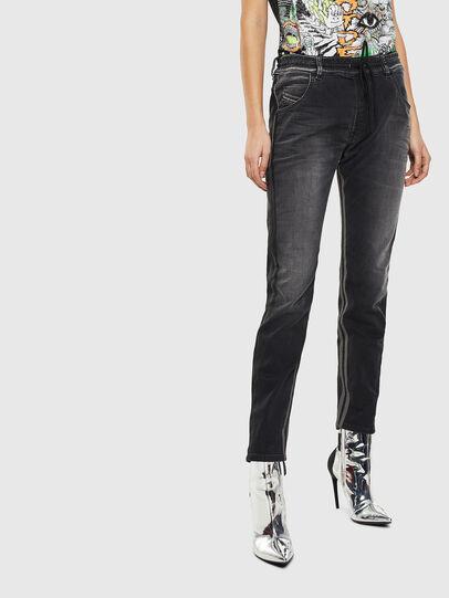Diesel - Krailey JoggJeans 0094Q, Nero/Grigio scuro - Jeans - Image 1