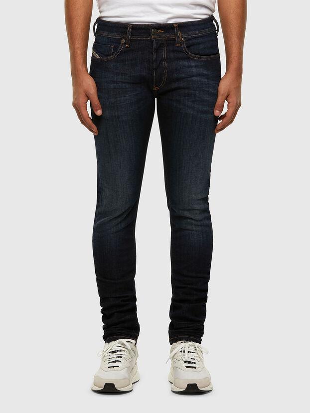 Sleenker 009EY, Blu Scuro - Jeans