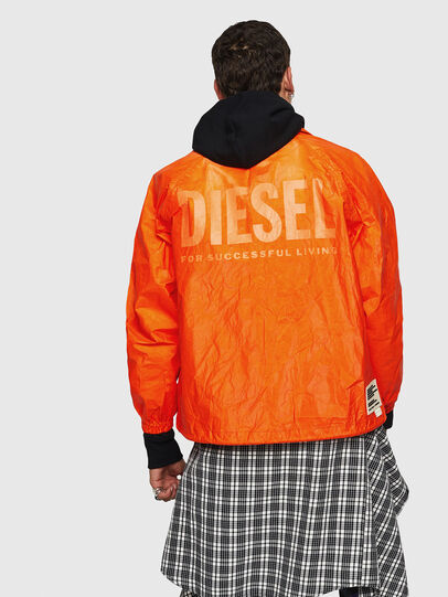 Diesel - J-AKINATOR-TVK, Arancione - Giacche - Image 2