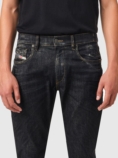Diesel - D-Strukt 09A87, Nero/Grigio scuro - Jeans - Image 3