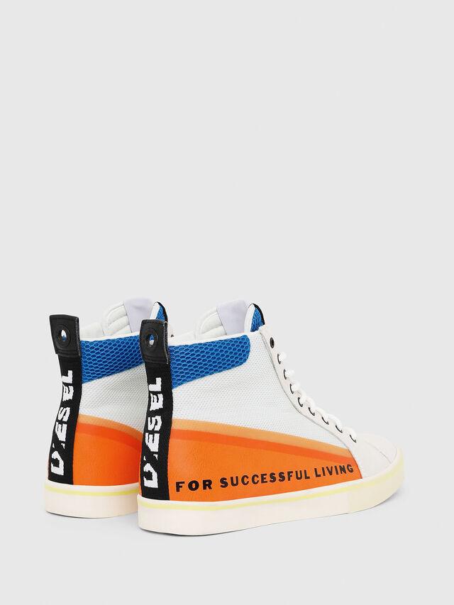 Diesel - S-DVELOWS MID, Bianco/Arancione - Sneakers - Image 3