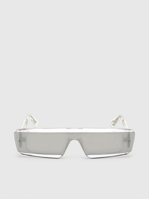 DL0318, Bianco - Occhiali da sole