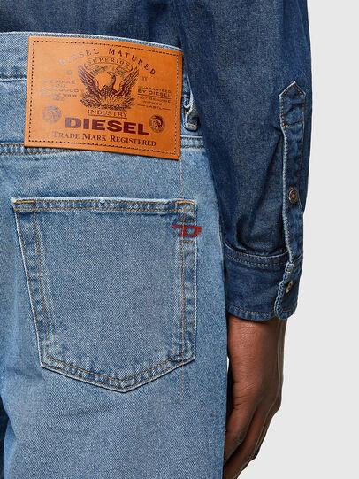 Diesel - D-STRUKT-SHORT, Blu Chiaro - Shorts - Image 4