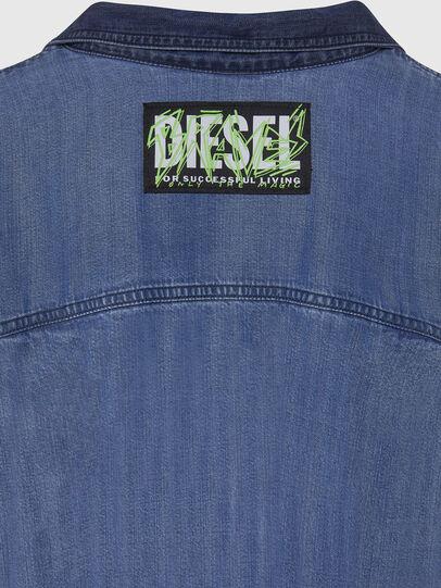 Diesel - DE-NILLA, Blu Chiaro - Camicie in Denim - Image 4