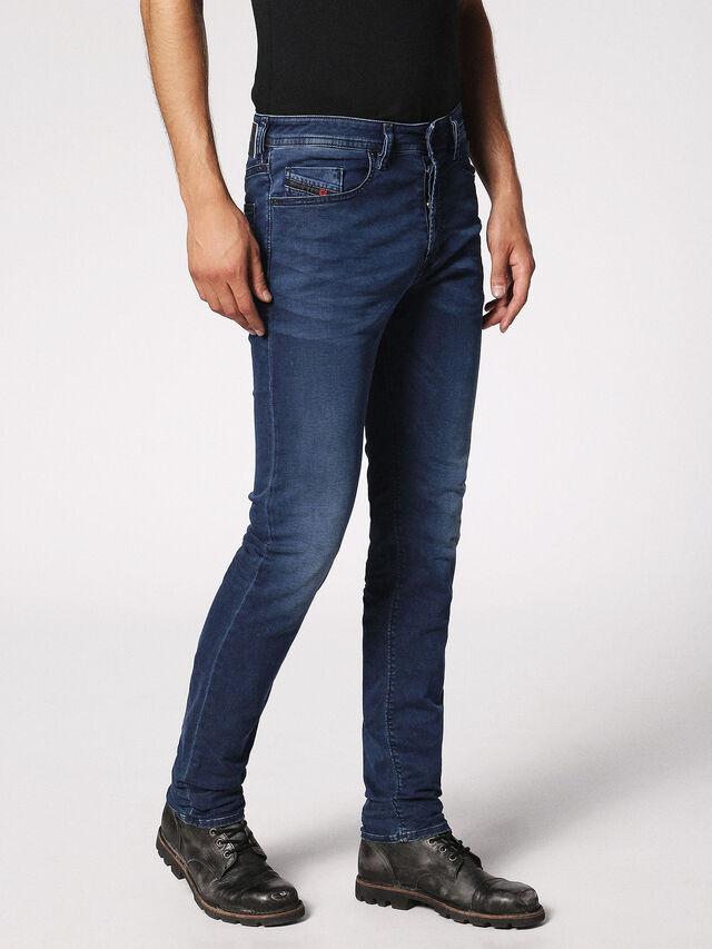 Diesel Buster 0675L, Blu Scuro - Jeans - Image 6