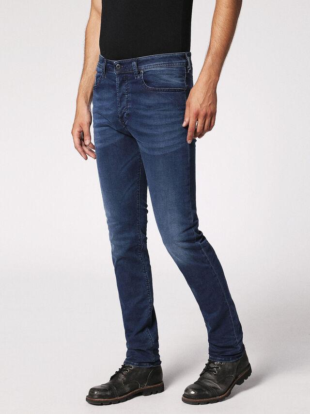 Diesel Buster 0675L, Blu Scuro - Jeans - Image 7