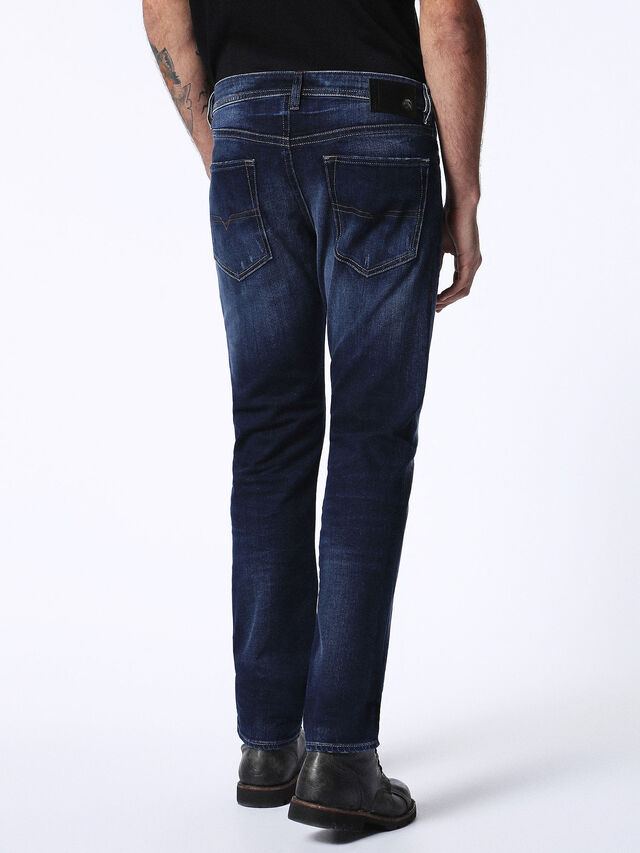 Diesel Buster 0860L, Blu Scuro - Jeans - Image 3