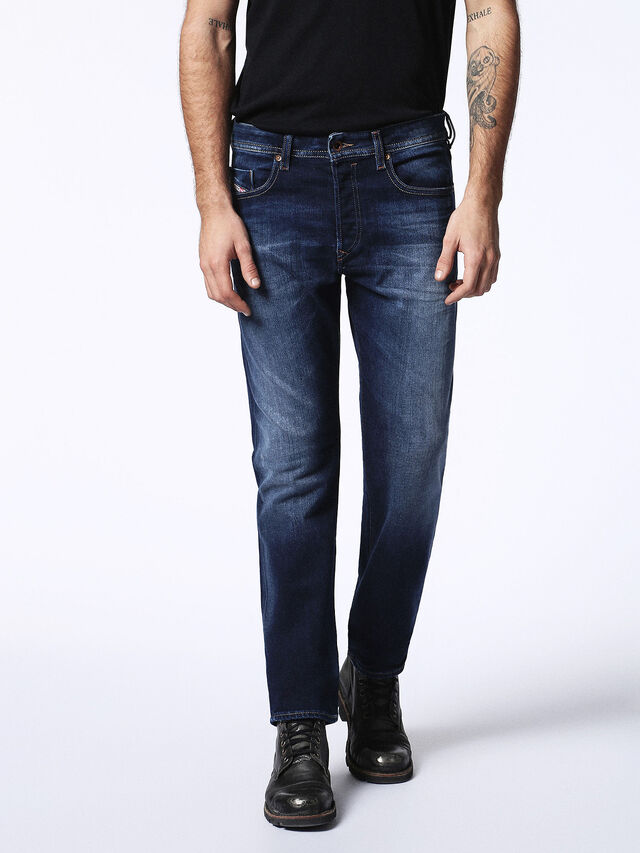 Diesel Buster 0860L, Blu Scuro - Jeans - Image 2