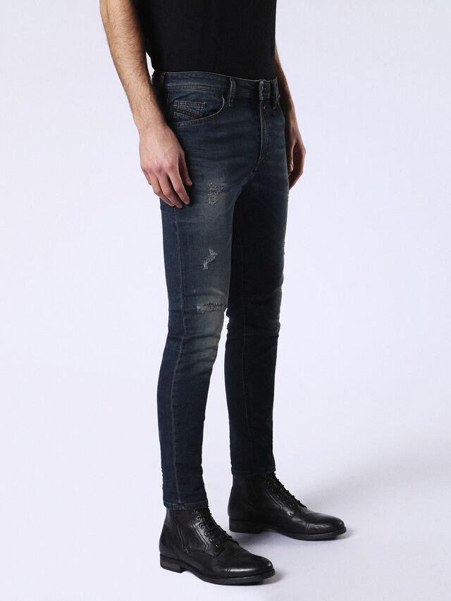 Diesel - Spender JoggJeans 0678L, Blu Scuro - Jeans - Image 5