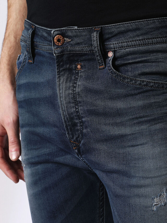 Diesel - Spender JoggJeans 0678L, Blu Scuro - Jeans - Image 4