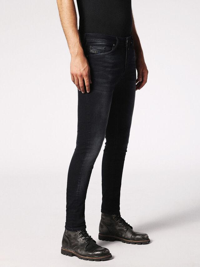 Diesel - Spender JoggJeans 0686F, Blu Scuro - Jeans - Image 4