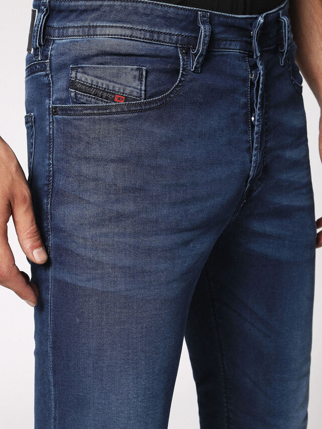Diesel - Buster 0675L, Blu Scuro - Jeans - Image 4
