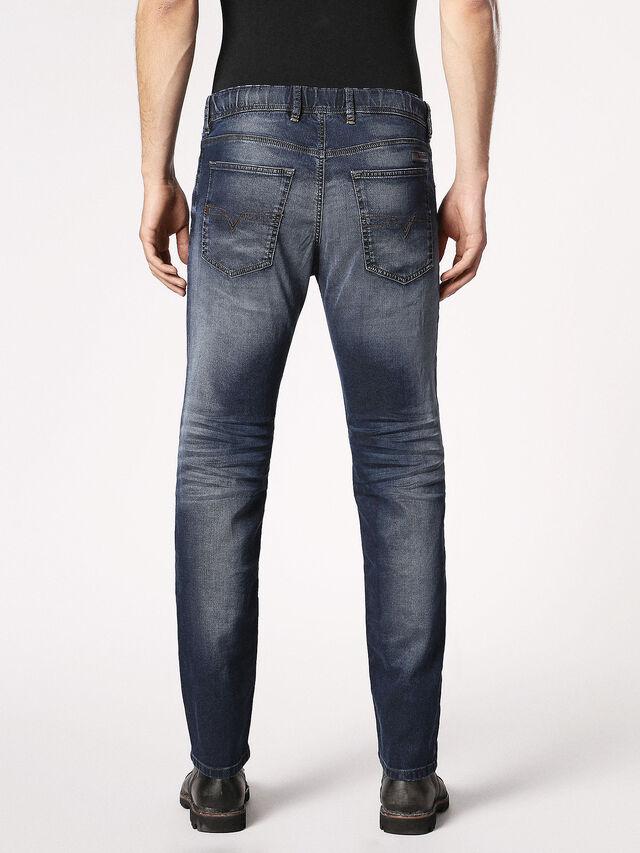 Diesel - Waykee JoggJeans 0683Y, Blu Scuro - Jeans - Image 3