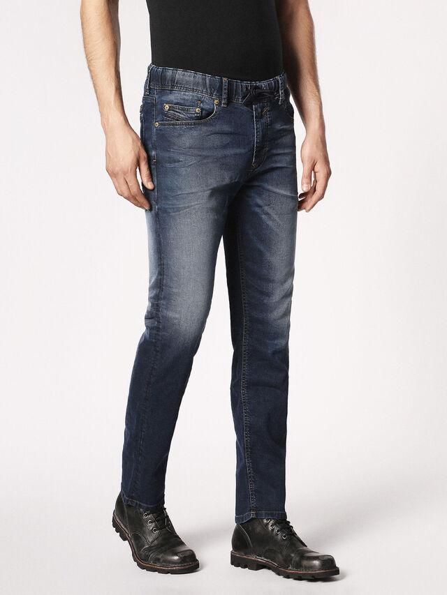 Diesel - Waykee JoggJeans 0683Y, Blu Scuro - Jeans - Image 6