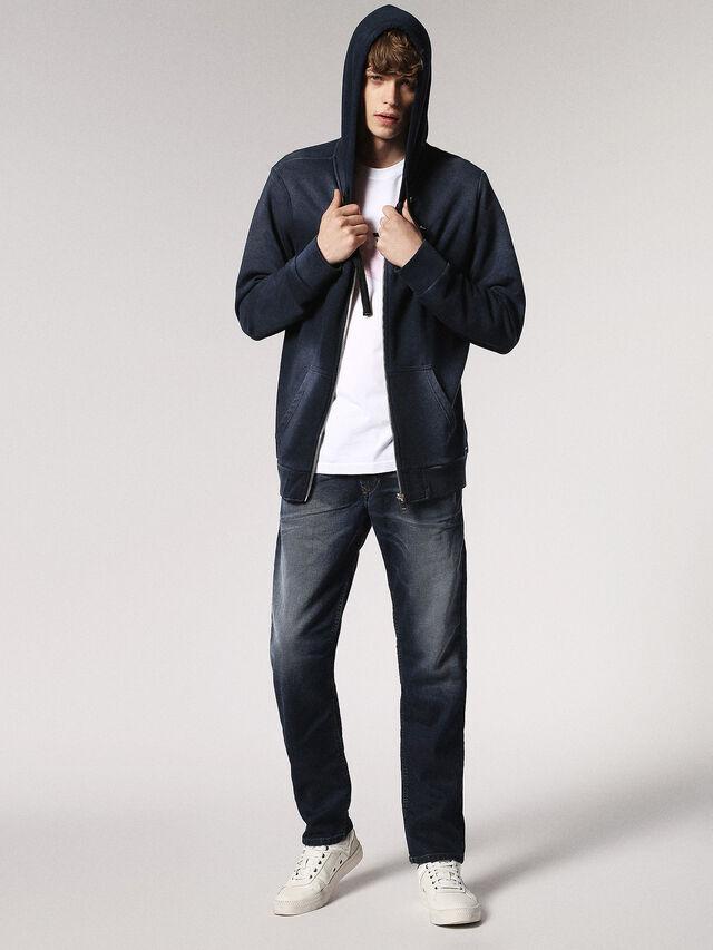 Diesel - Waykee JoggJeans 0683Y, Blu Scuro - Jeans - Image 5