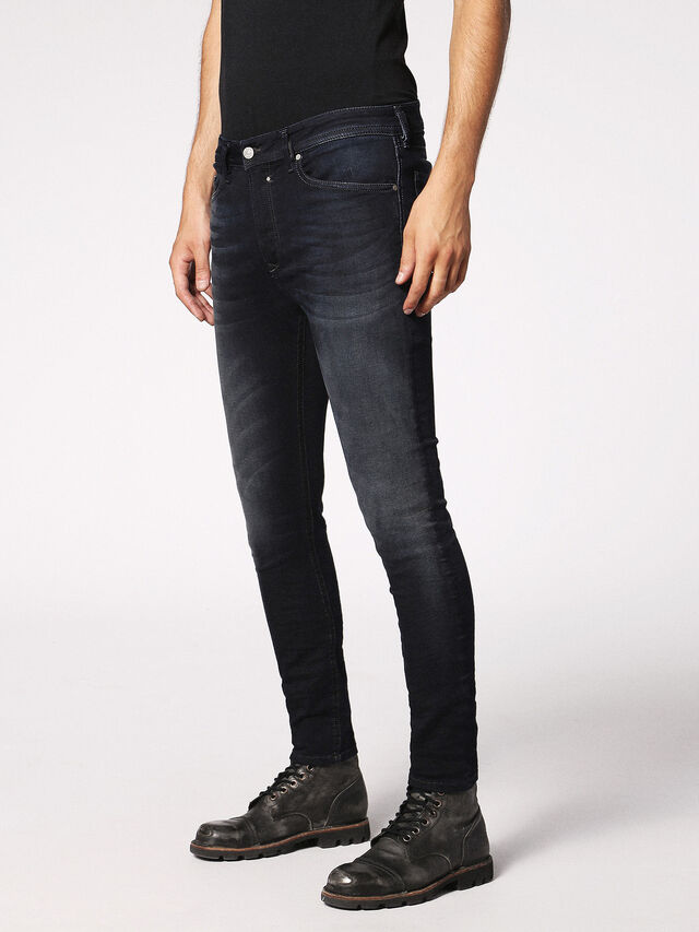 Diesel - Spender JoggJeans 0686F, Blu Scuro - Jeans - Image 5