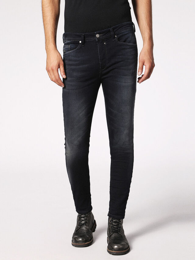 Diesel - Spender JoggJeans 0686F, Blu Scuro - Jeans - Image 1