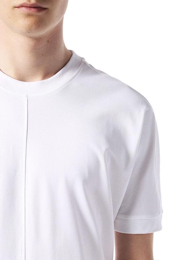 Diesel - TANORMAL, Bianco - T-Shirts - Image 5