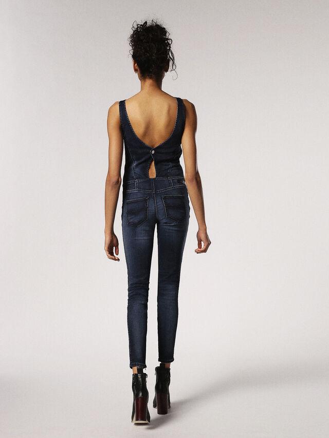Diesel - ZEPPEL JOGGJEANS, Blu Jeans - Tute e Salopette - Image 2