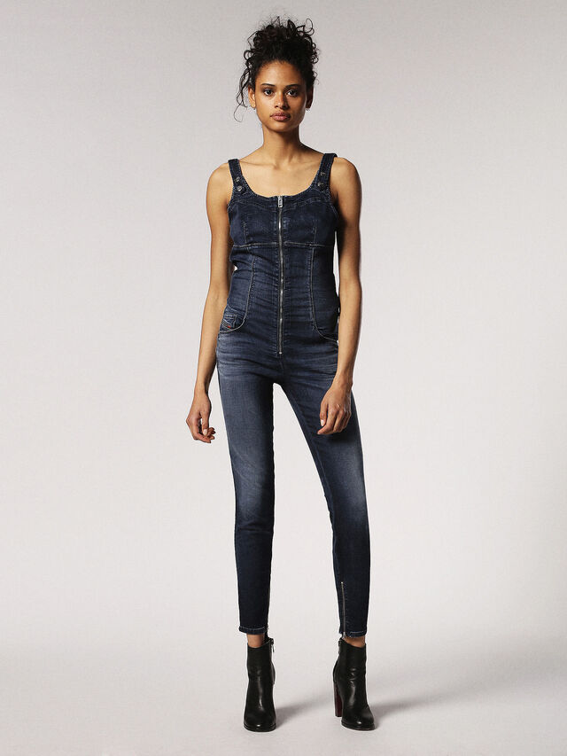 Diesel - ZEPPEL JOGGJEANS, Blu Jeans - Tute e Salopette - Image 1