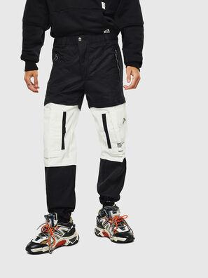 P-MELTY, Nero/Bianco - Pantaloni
