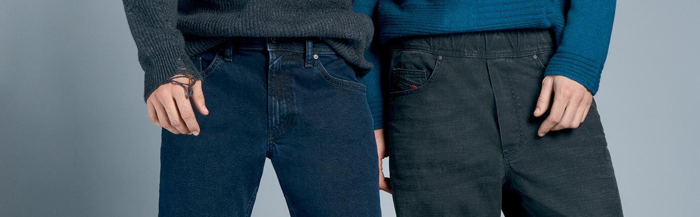 Bootcut Jeans Uomo Diesel