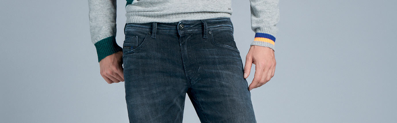 Tapered Jeans Uomo Diesel