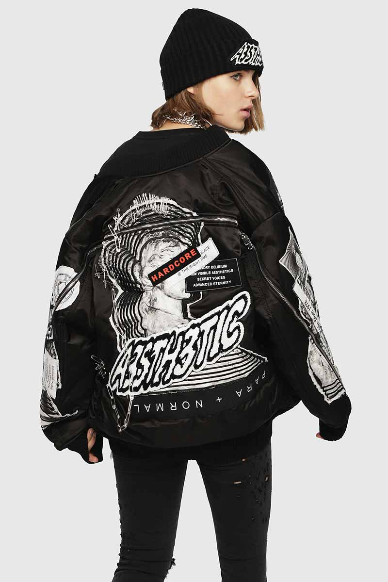 New Arrivals Jackets For Woman | Diesel Online Store