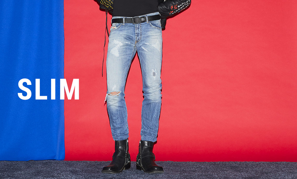 71e5a5d519 Slim Jeans Uomo: thommer, mharky | Diesel Online Store