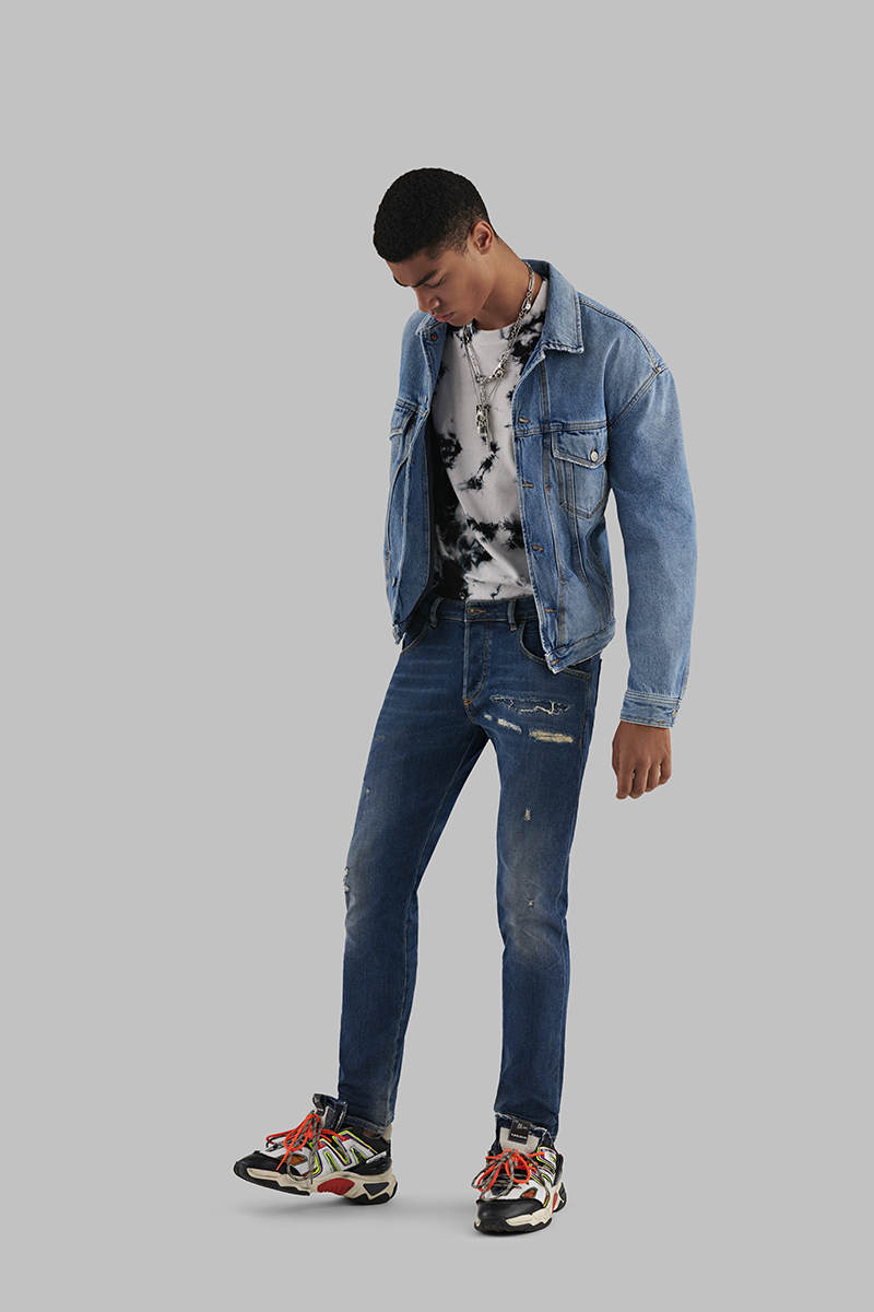 Diesel Tapered Jeans Man