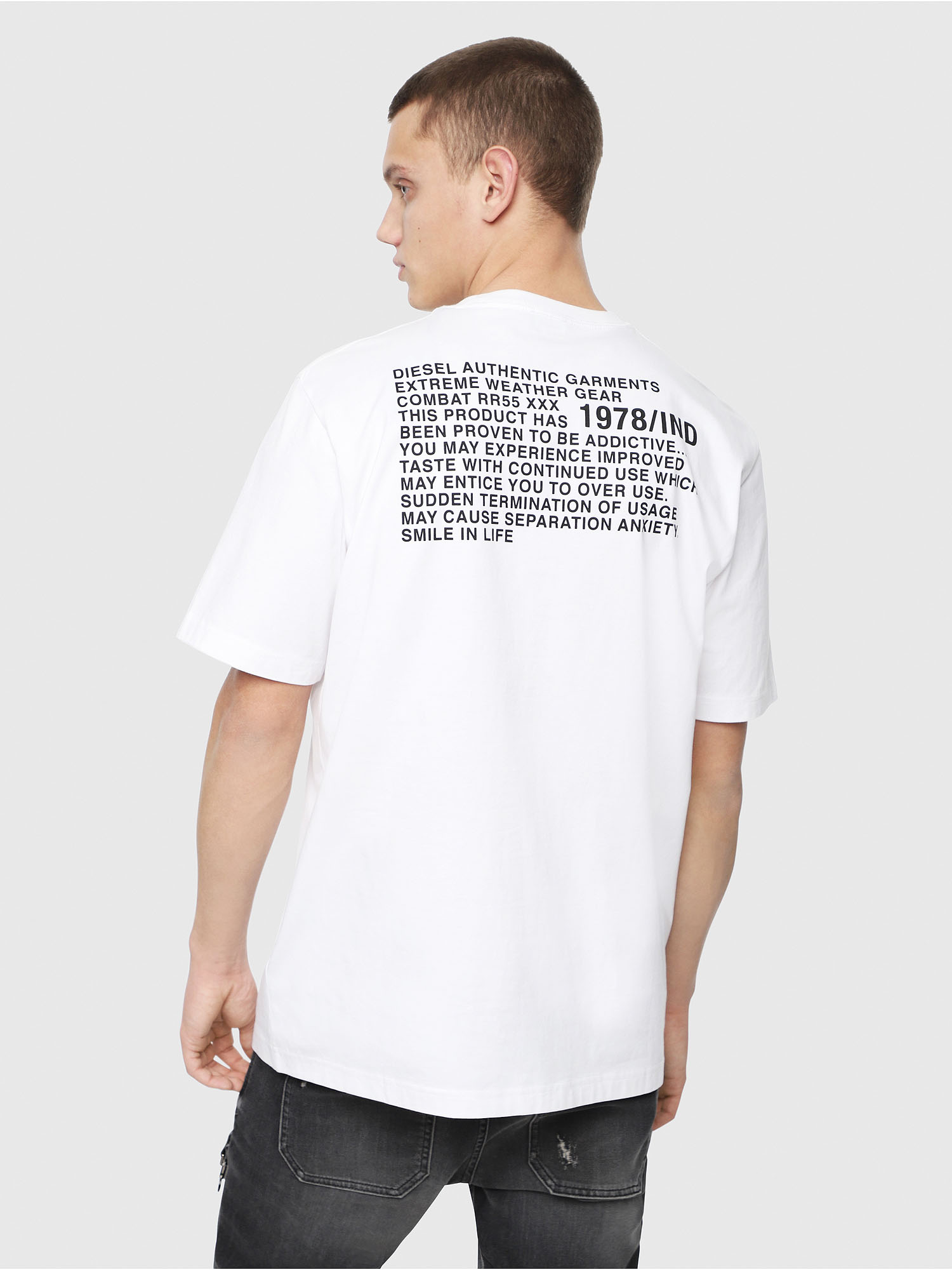Diesel - T-JUST-Y1,  - T-Shirts - Image 2