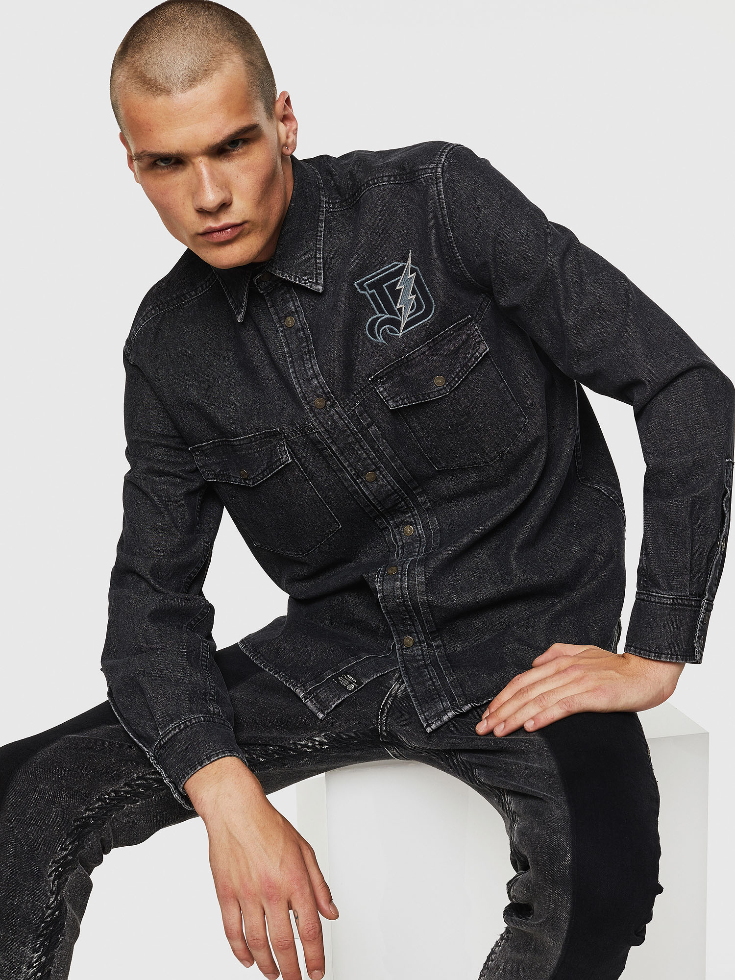 Diesel - D-BANDY-B,  - Camicie in Denim - Image 3