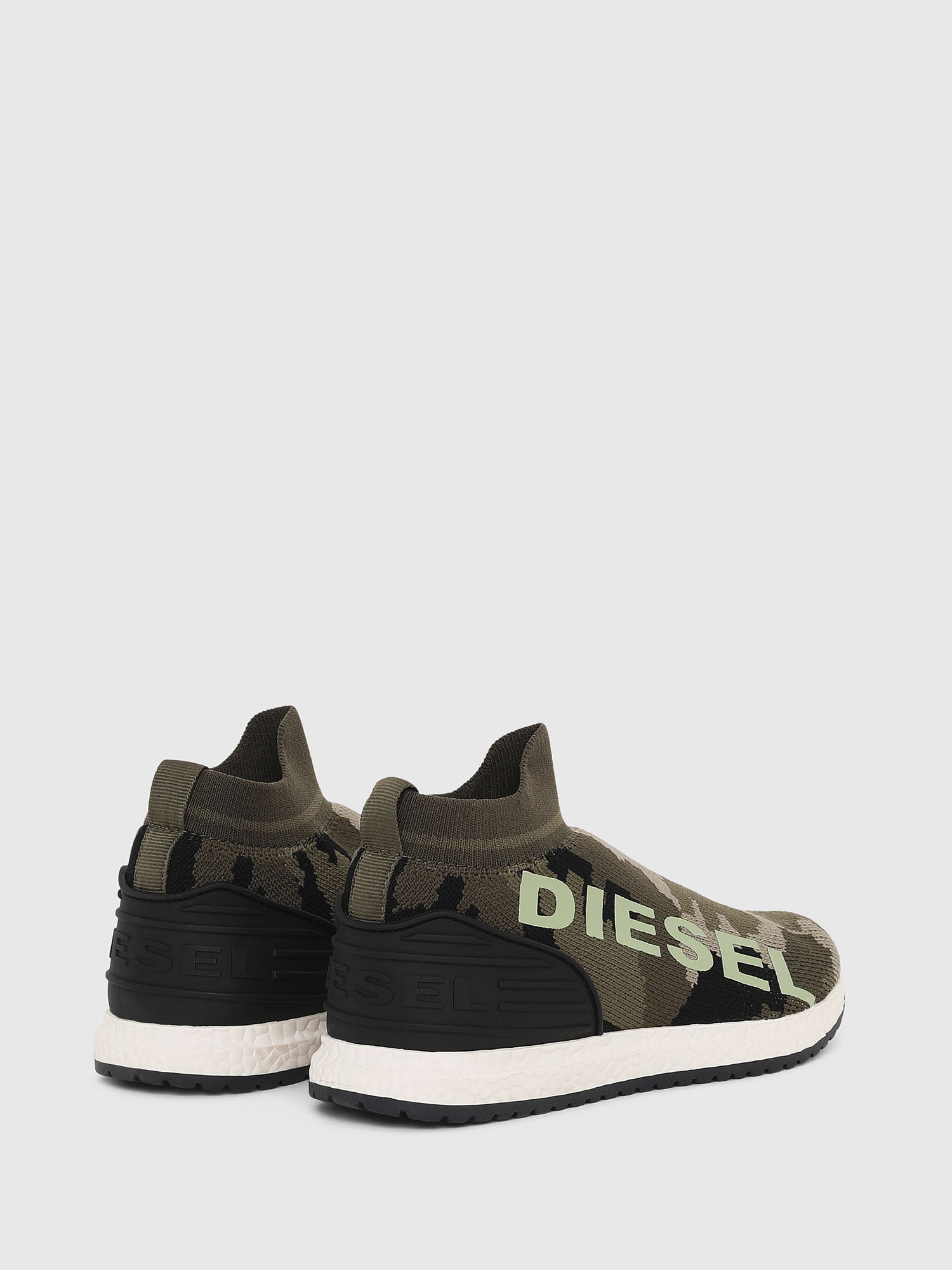 Diesel - SLIP ON 03 LOW SOCK,  - Scarpe - Image 3