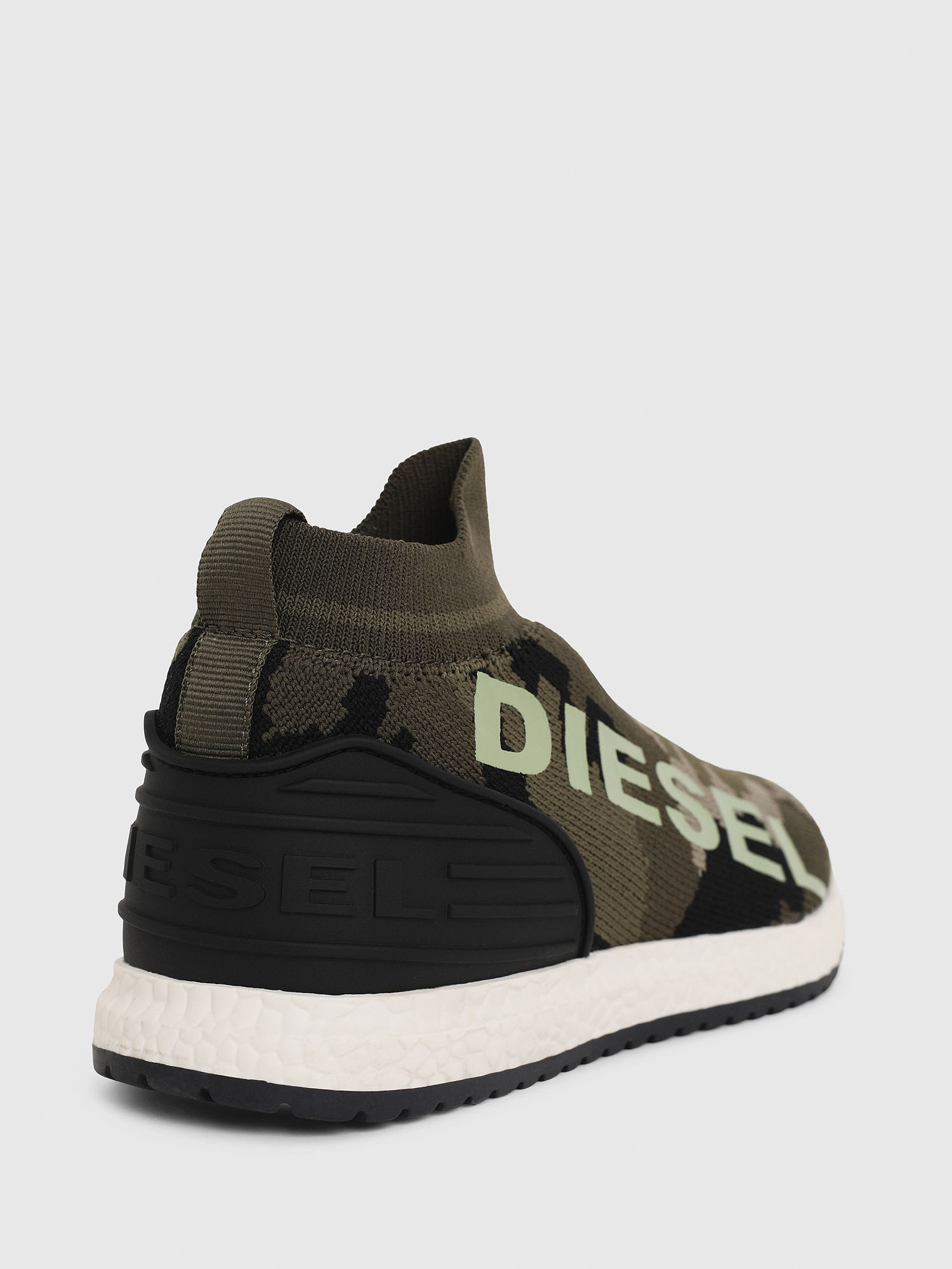 Diesel - SLIP ON 03 LOW SOCK,  - Scarpe - Image 4
