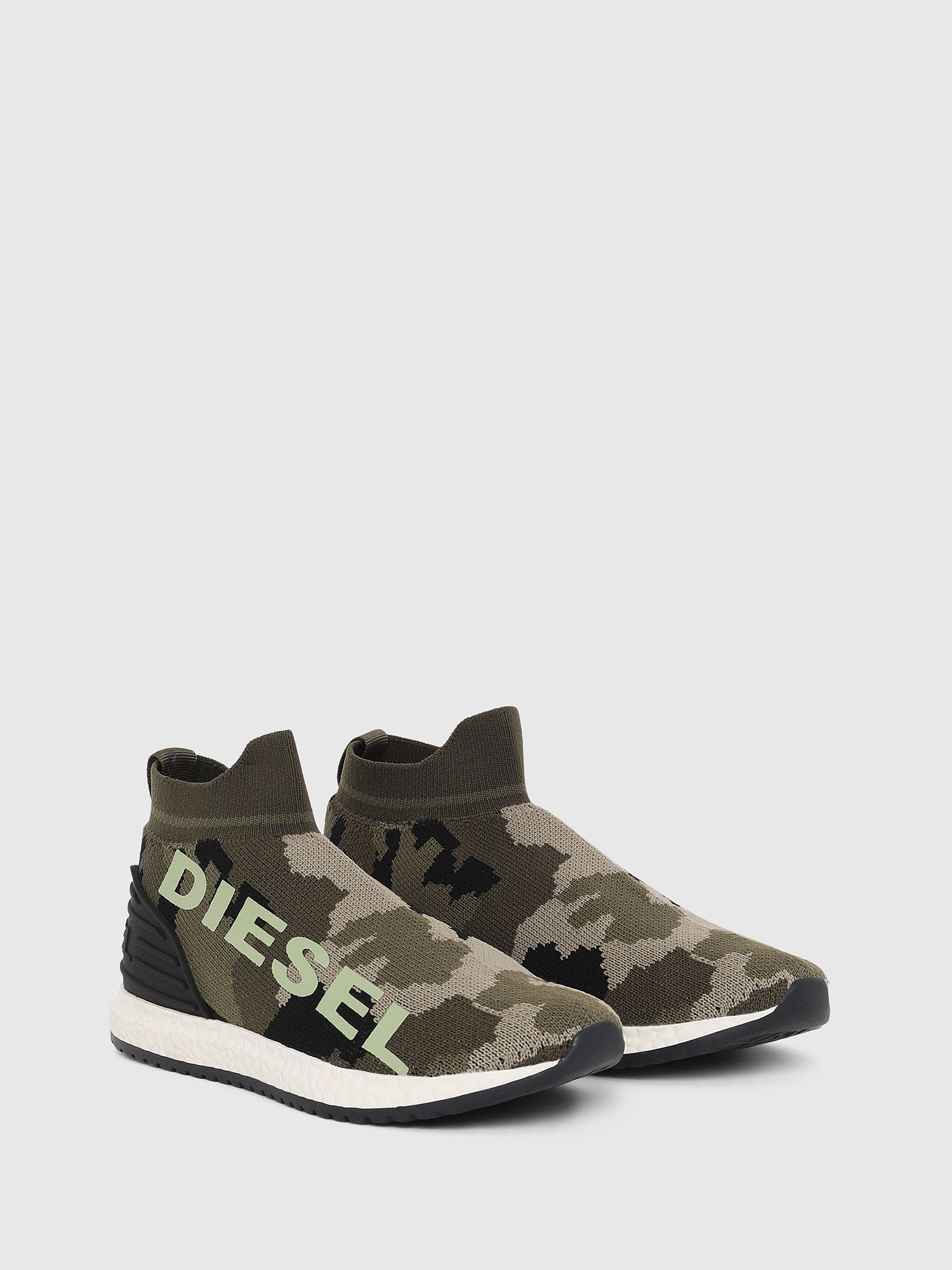 Diesel - SLIP ON 03 LOW SOCK,  - Scarpe - Image 2