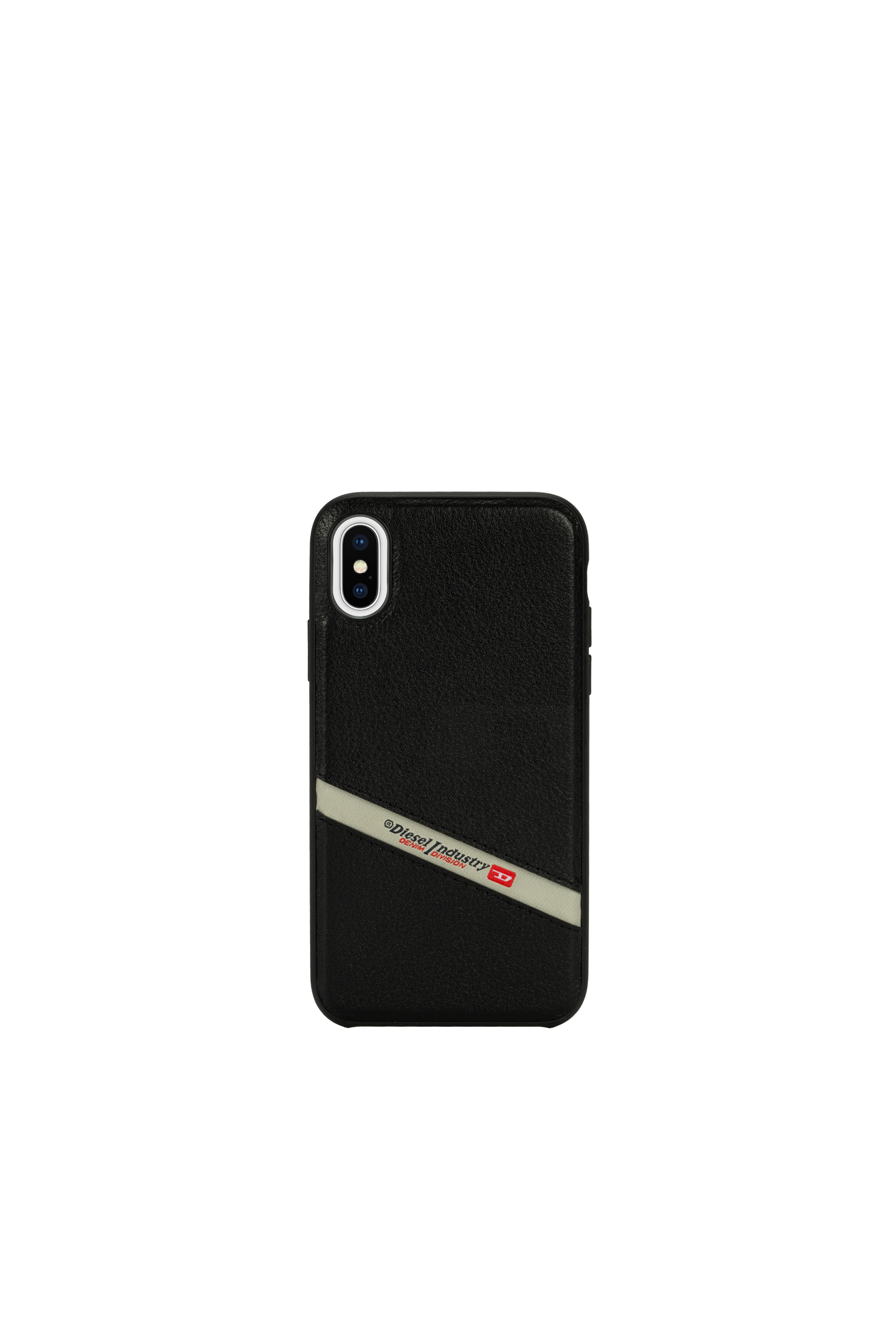 Diesel - DIESEL LEATHER CO-MOLD CASE FOR IPHONE XS & IPHONE X,  - Cover - Image 4