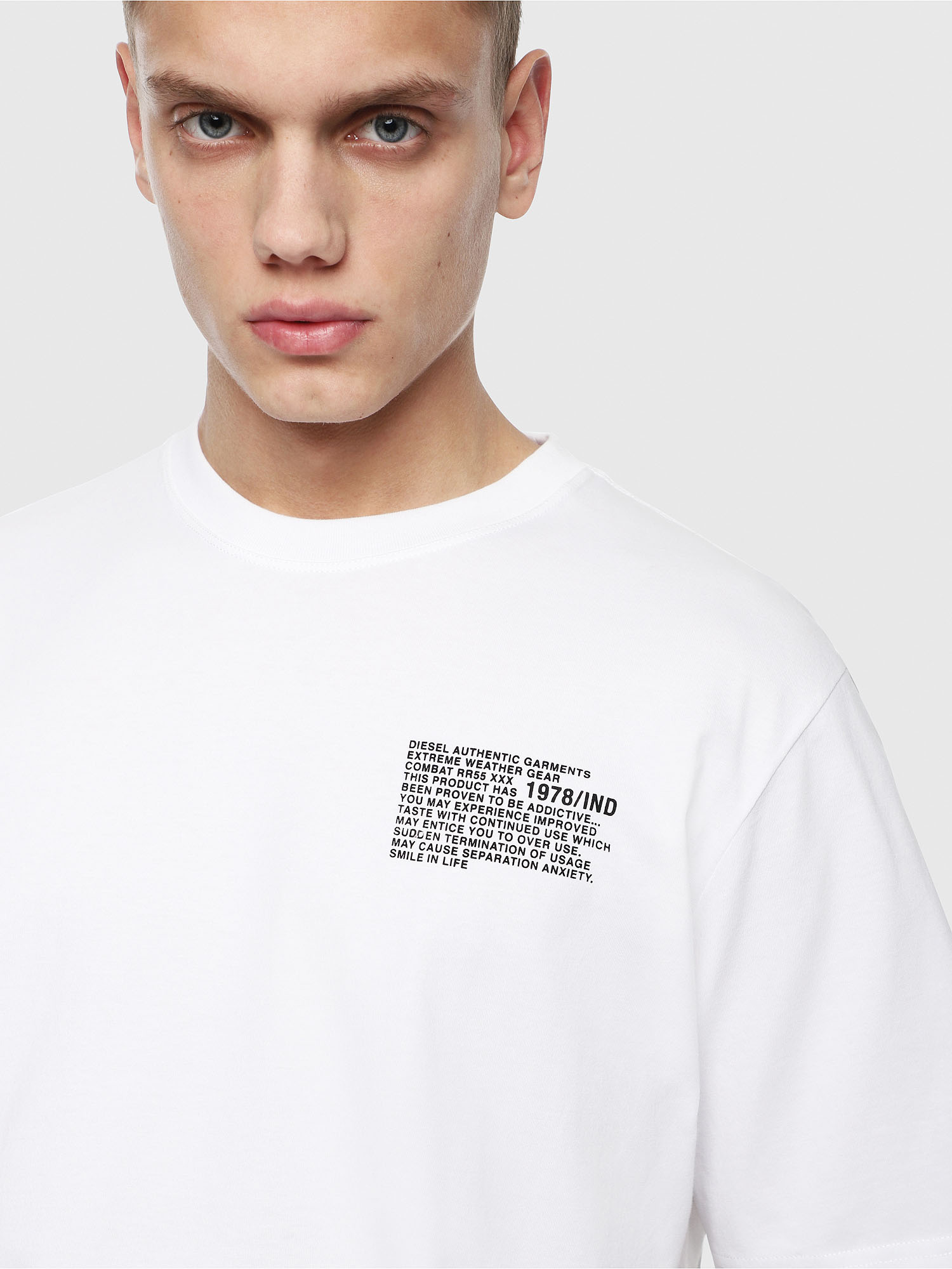 Diesel - T-JUST-Y1,  - T-Shirts - Image 3