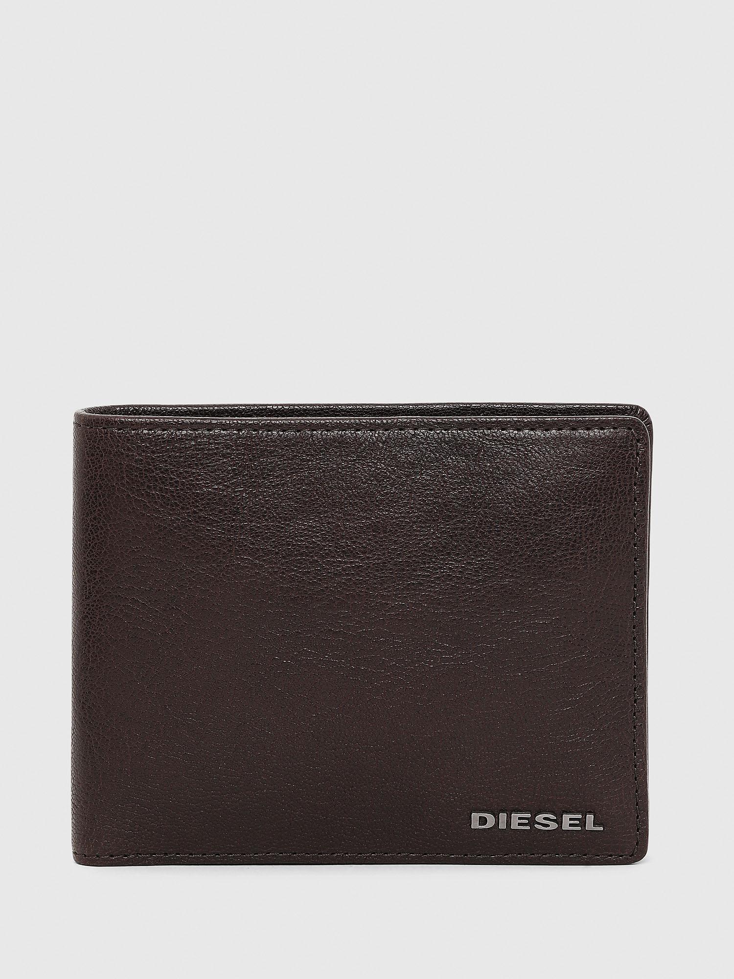sconto più votato completo nelle specifiche rapporto qualità-prezzo HIRESH Uomo: Portafoglio a libro in pelle pieno fiore   Diesel