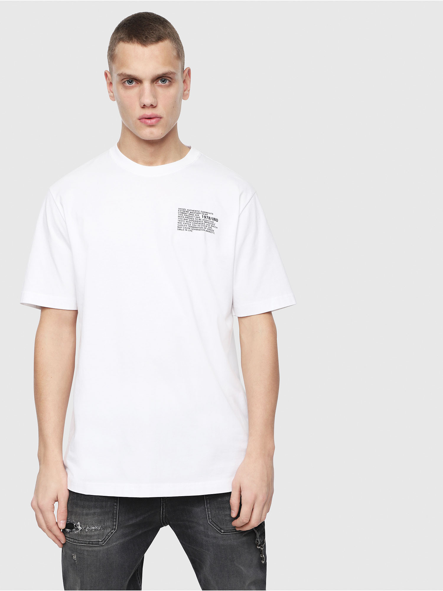 Diesel - T-JUST-Y1,  - T-Shirts - Image 1